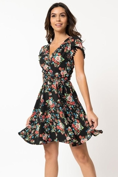 Smak Parlour Pretty-Woke Floral Dress - Product List Image