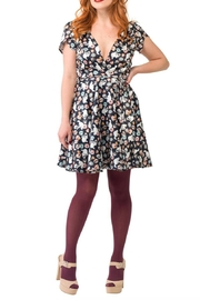 Smak Parlour Teatime Cats Dress - Product Mini Image