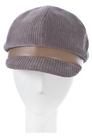 F&M hat company Small baker boy w pleather band - Product Mini Image