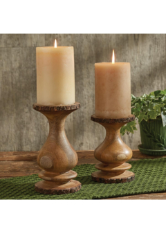 Park Designs Small Bark Edge Candle Holder - Product List Image