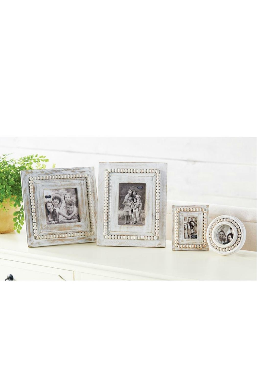 Mud Pie Small Beaded Frames - Front Full Image