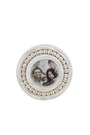 Mud Pie Small Beaded Frames - Front cropped