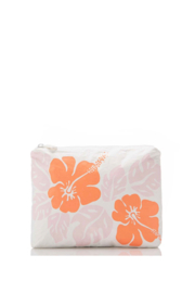 Aloha Collection Small Big Island Hibiscus Pouch - Front cropped
