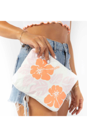 Aloha Collection Small Big Island Hibiscus Pouch - Front full body