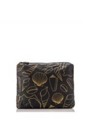 Aloha Collection Small Black Seashore Pouch - Product Mini Image