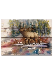 Daydream HQ Small Bugling-Elk Print - Product Mini Image