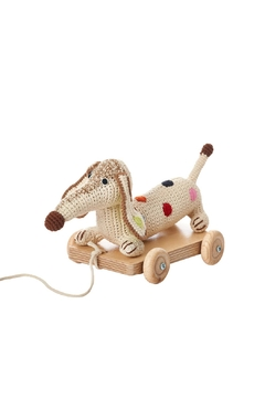 anne-claire petit Small-Dachshund Pull-Along Dog-Car - Alternate List Image