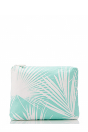 Aloha Collection Small Day Palms Pouch - Front full body