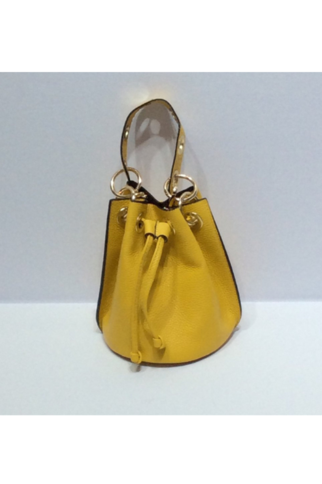 DiJore Small Draw Cinch Italian Leather Bag - Main Image