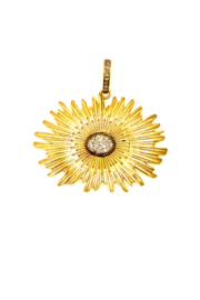 The Woods Fine Jewelry  Small Flower Pendant - Product Mini Image