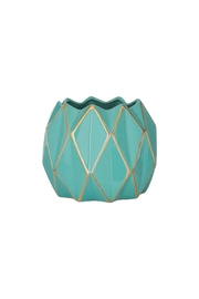 RAZ Imports Small Geometric Vase - Product Mini Image