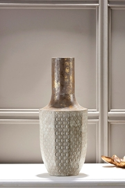 Giftcraft Inc.  Small Gold Decorative Vase - Product Mini Image