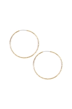 Shoptiques Product: Small Hoop Earrings