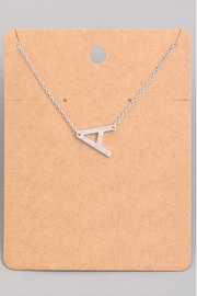 Wild Lilies Jewelry  Small Initial Necklace - Product Mini Image