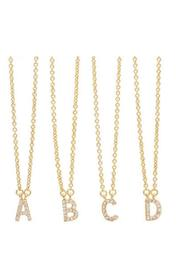 Accessoritzit Delicate Initial Necklace - Front cropped