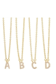 Accessoritzit Delicate Initial Necklace - Product Mini Image