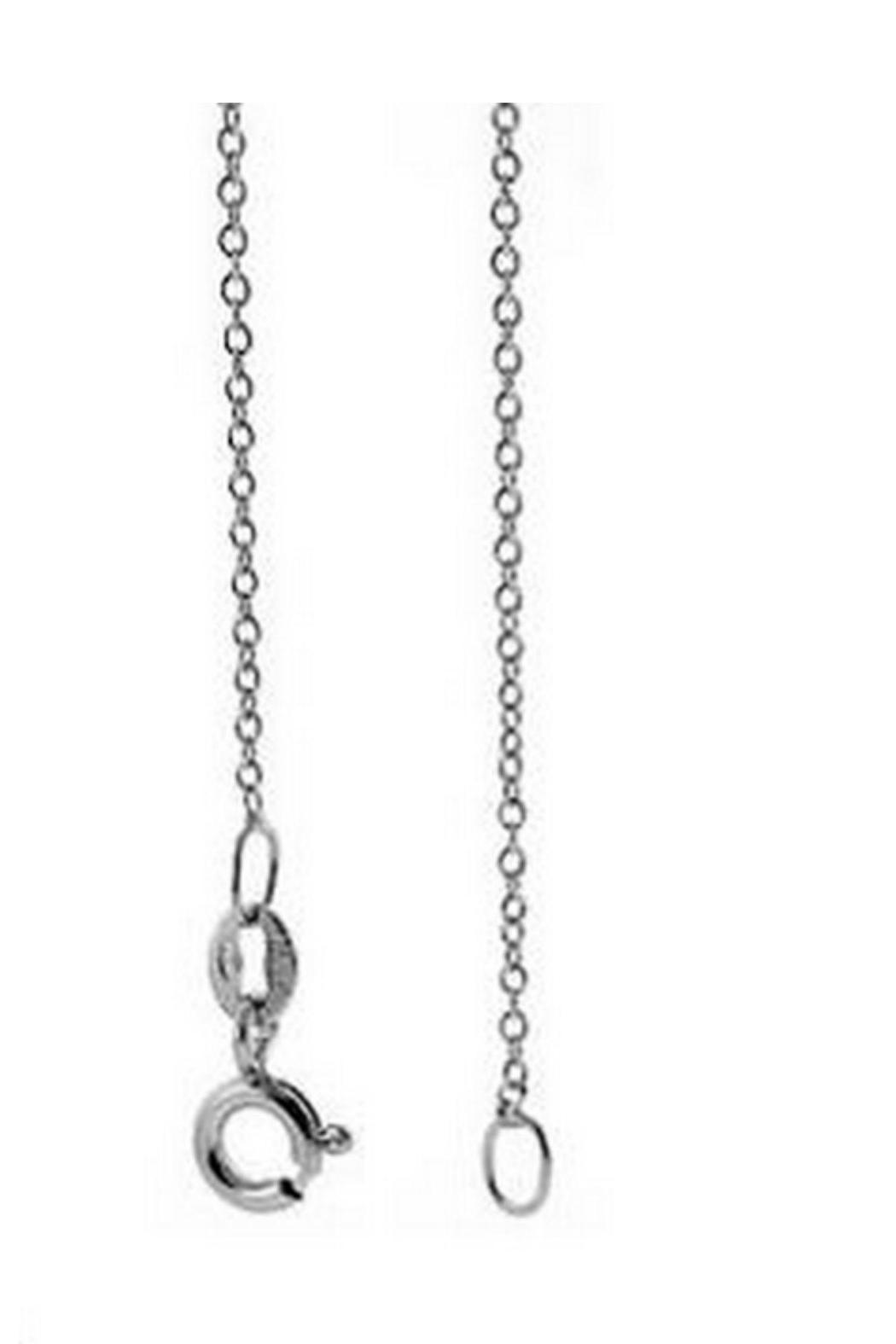 Accessoritzit Delicate Initial Necklace - Front Full Image