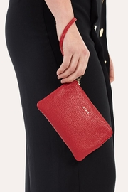 Kiko Leather Small Leather Wristlet - Product Mini Image