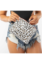 Aloha Collection Small Leopard Cub Pouch - Back cropped
