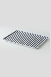 Fog Linen Small Linen Tray - Front cropped