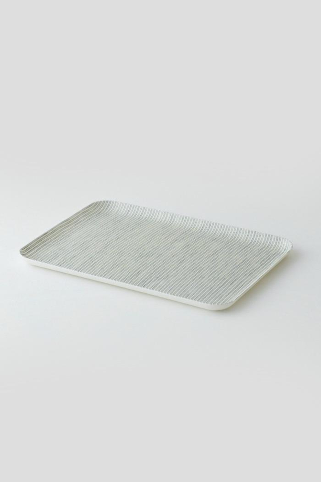 Fog Linen Small Linen Tray - Front Cropped Image