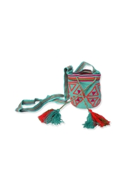 Wayuu Women Project Small Mochila Blue - Product Mini Image