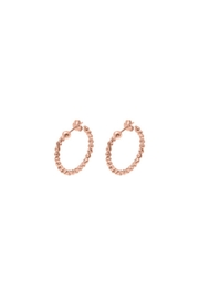 Officina Bernardi Small Moon Earrings - Product Mini Image