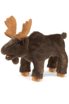 Folkmanis Small Moose Puppet - Product List Image