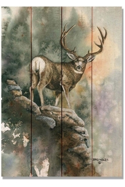 Daydream HQ Small Mule-Deer Print - Product Mini Image