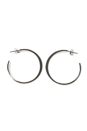 Lets Accessorize Small Open-Back Hoops - Product Mini Image
