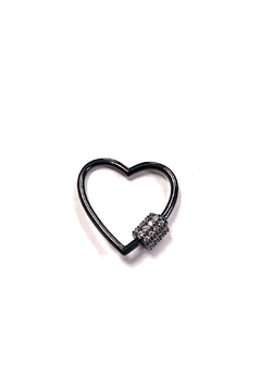 Shoptiques Product: Small Outlined-Heart Charm