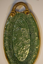 Iris Grundler Pottery Small Oval Tray - Product Mini Image