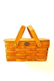 Peterboro Basket Company Small Picnic Basket - Product Mini Image