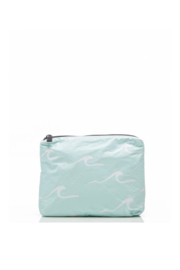 Aloha Collection Small Seaside Pouch in LeMU Blue - Front cropped