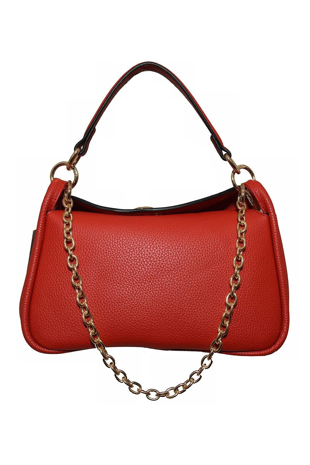 INZI Small Shoulder Bag - Front Cropped Image