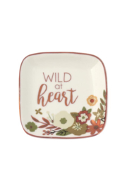 Karma Small Square Trinket Trays - Front cropped