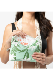 Aloha Collection Small Tiare Ti Pouch - Side cropped