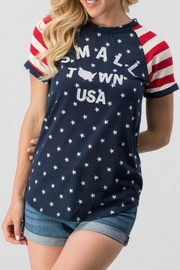 Trend:notes Small-Town Usa Tee - Side cropped