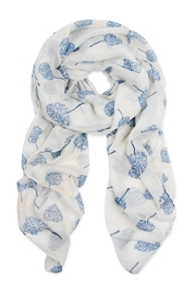 Riah Fashion Small-Trees Printed Scarf - Product Mini Image