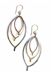 Viki Jewelry Small Triple Lead Earring - Front cropped