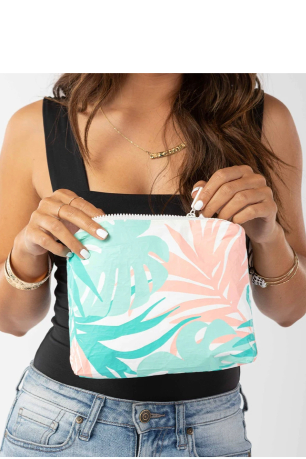 Aloha Collection Small Tropics Pouch - Front Full Image