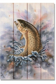 Daydream HQ Small Trout Print - Product Mini Image
