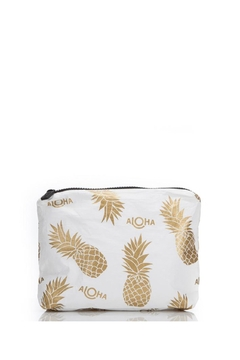 Shoptiques Product: Small White Pineapple Fields Pouch