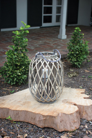 Kalalou SMALL WILLOW LANTERN - Front cropped