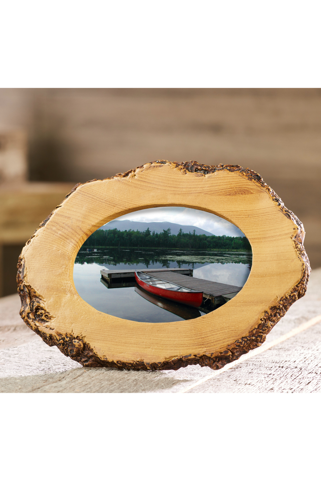 Giftcraft Inc.  Small Wood-Look Frame - Main Image