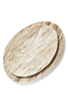Two's Company Smaller Marble Plate - Product List Image