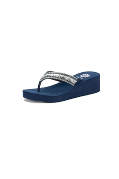 Yellow Box Smantha Low-Wedge Sandal - Product List Image