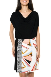 Smash  Abstract Pattern Skirt - Front cropped
