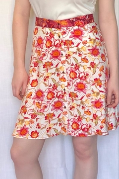 Shoptiques Product: Floral a-Line Skirt