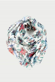 Smash  Floral Scarf - Product Mini Image